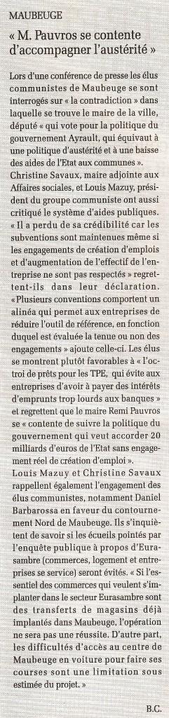 Dans Liberté Hebdo... dans ECONOMIE - FISCALITE scan0496