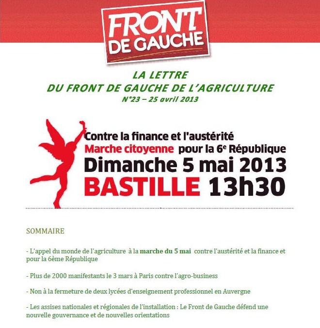 La lettre du Front de Gauche de l'Agriculture dans AGRICULTURE-MONDE RURAL la-lettre-du-front-de-gauche-n-23