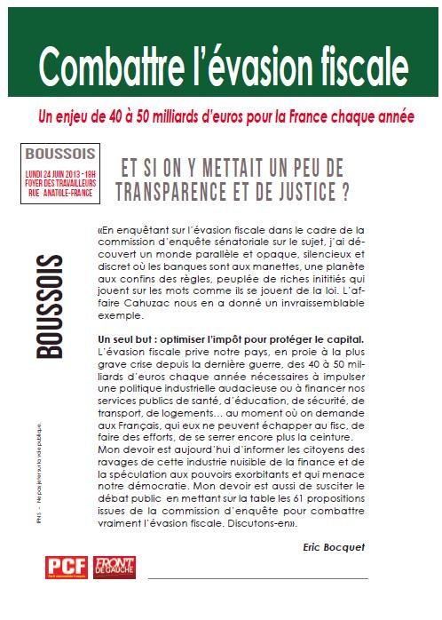 Boussois - Combattre l'évasion fiscale - 24 juin 2013 dans ECONOMIE - FISCALITE evasion_1