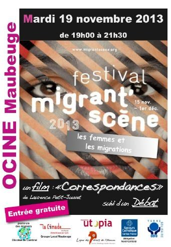 Maubeuge - Festival Migrant'scène 2013 - 19 nov. 2013 dans CHANGER LA SOCIETE migrants