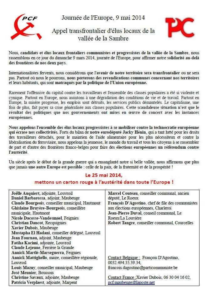 journée europe 9 mai 2014
